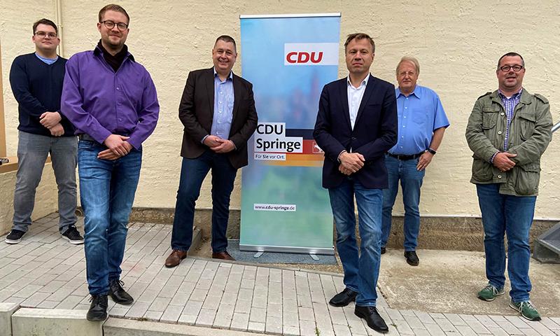 Der Vorstand des CDU-Ortsverbands Springe/Alvesrode/Altenhagen I stellt sich vor