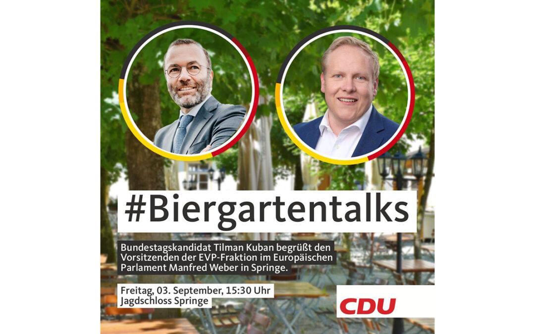 #Biergartentalks